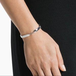 St. John Metal Twist Cuff Bracelet
